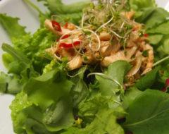 ささみとブロッコリースプラウトのサラダ