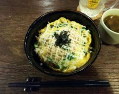 鮭玉マヨ丼